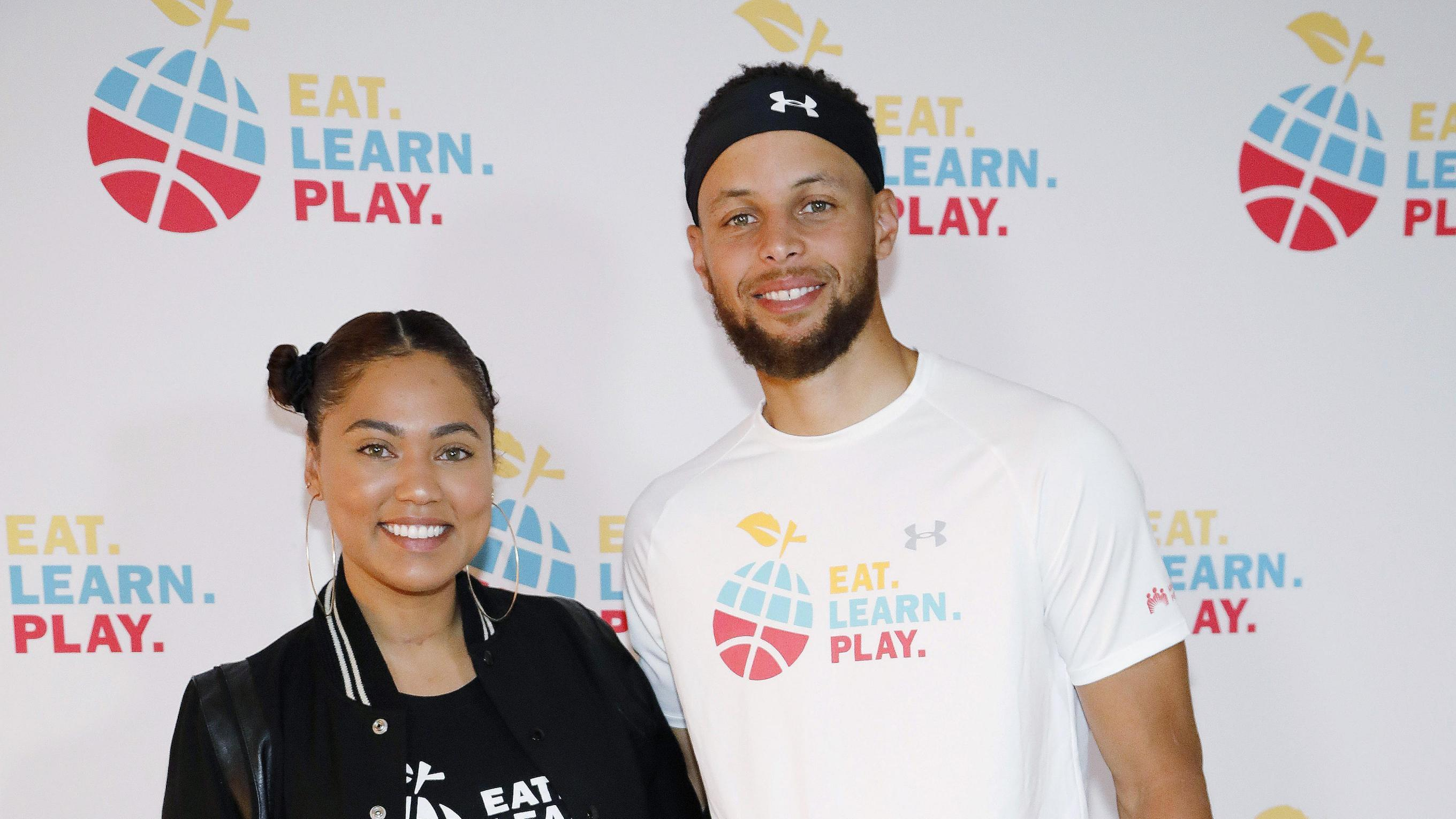 Stephen and Ayesha Curry Launch Initiative to Create Equal Opportunity for Female Student-Athletes at Davidson College