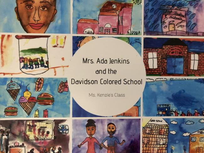 Mrs. Ada Jenkins and the Davidson Colored School