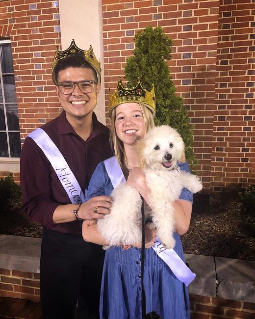 We're doggone excited to feature marcosbalsera '19 and claire_t7 '19, this year's Senior Homecoming Royals