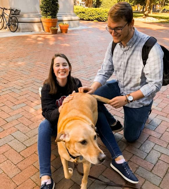 davidsoncollege reminded us it's been too long since we've posted dog content