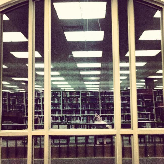 Library late nights