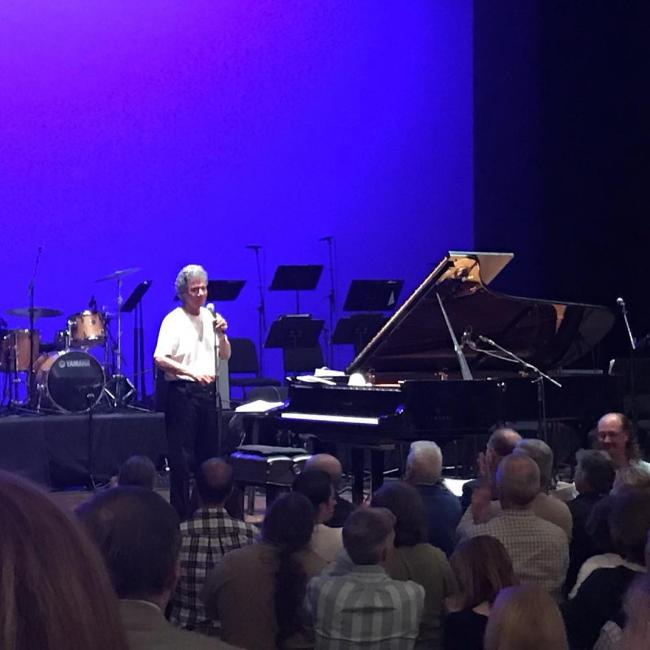That time jazz legend Chick Corea came to Davidson College