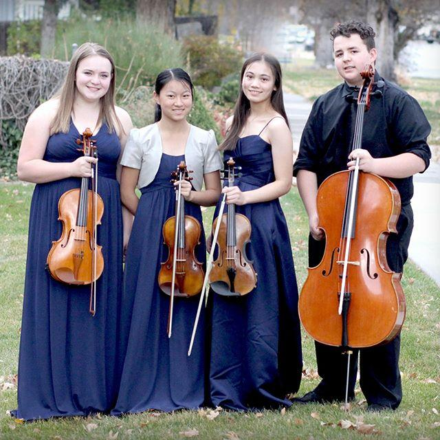 the finalists of WDAV's 2018 Young Chamber Musicians Competition