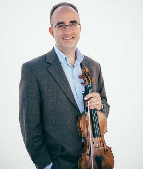 Joseph Meyer with Violin