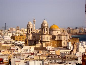 Cadiz Spain City View