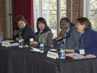 A panel of Distinguished Changemakers