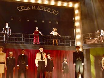 Students Performing in Cabaret