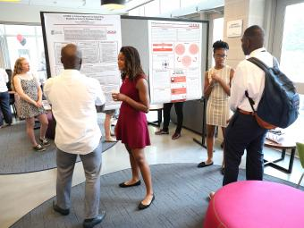 Verna Case Symposium Students Presenting Research