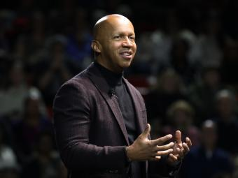 Bryan Stevenson at Davidson College