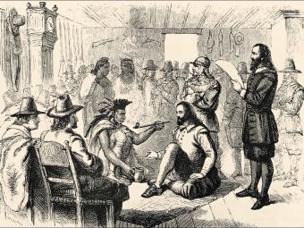 First Thanksgiving Wampanoag