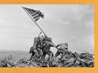 Photo from of Battle of Iwo Jima